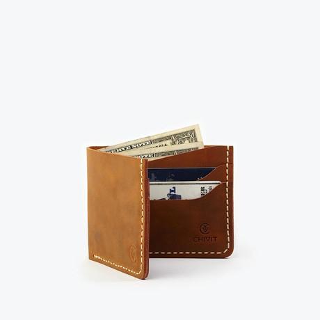 Bi-Fold Wallet // Antique Brown