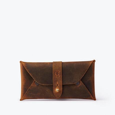 Multipurpose Envelope Case // Antique Brown