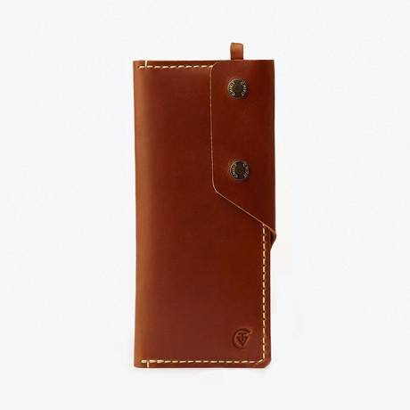 Long Wallet // Cognac