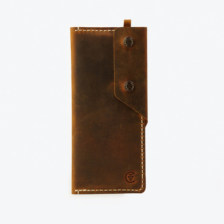 Long Wallet // Antique Brown