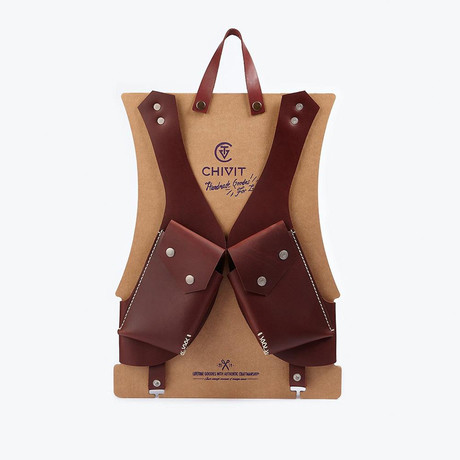 Double Holster // Red Brown