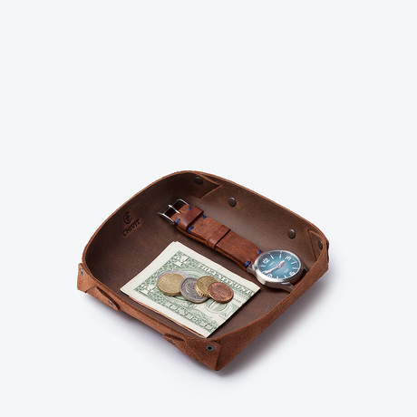 Catch All Tray // Antique Brown (Small)