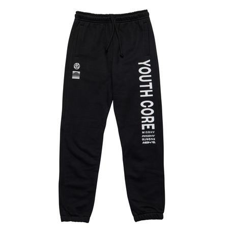 MISBHV // Youth Core Sweatpants // Black (XS)
