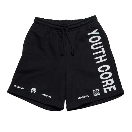 MISBHV // Youth Core Shorts // Black (XS)