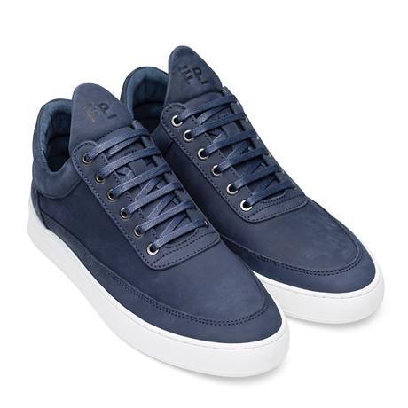 Filling Pieces // Lane Nubuck Shoes // Blue (Euro: 40)