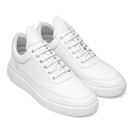 Filling Pieces // Aedan Nappa Shoes // White (Euro: 40)