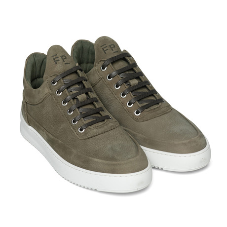 Filling Pieces // Cairos Shoes // Army Green (Euro: 40)