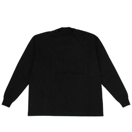 Unravel Project // Back Print Long Sleeve T-Shirt // Black (XXS)