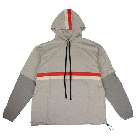 Unravel Project // Over-Sized Sweatshirt // Gray (XXS)