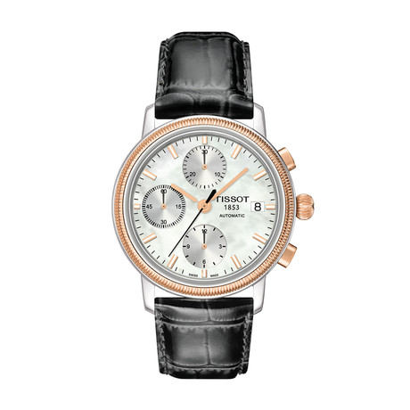 Tissot Ladies Bridgeport Valjoux Chronograph Automatic // T71147871
