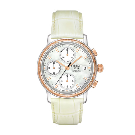 Tissot Ladies Bridgeport Valjoux Chronograph Automatic // T71148076