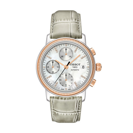 Tissot Ladies Bridgeport Valjoux Chronograph Automatic // T71147976