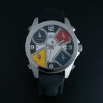 Jacob & Co. Five Time Zone Quartz // JCM-4DA // Pre-Owned