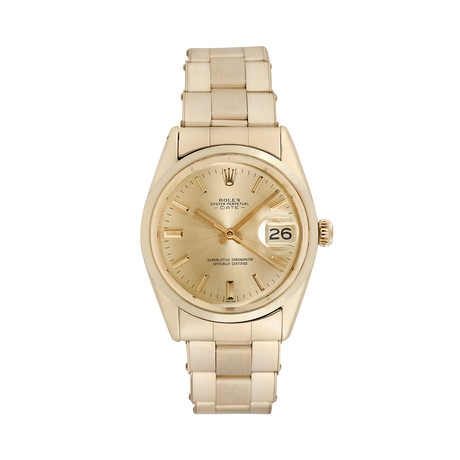 Rolex Date Automatic // 1550 // 760-AR7114650 // Pre-Owned