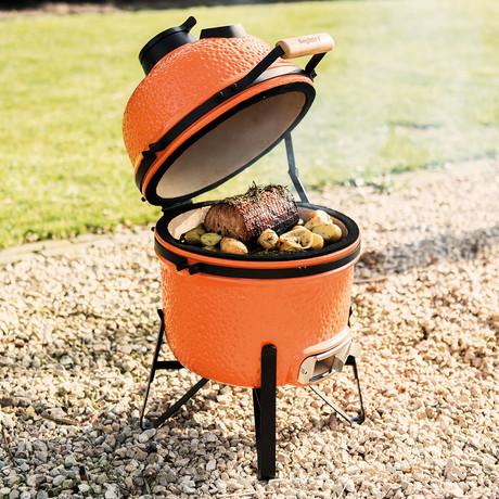 """Ceramic BBQ // 13"""" (Orange)"""