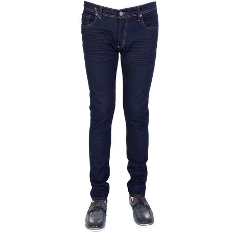 Cade Denim Jeans // Navy (XS)