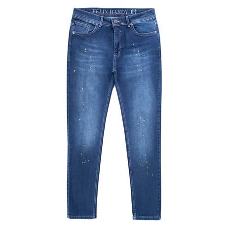 Asa Denim Jeans // Navy (XS)