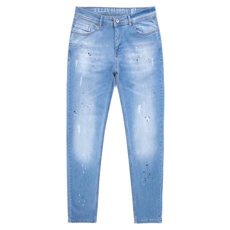 Walter Denim Jeans // Light Blue (XS)