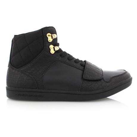 Cesario Hi Sneaker // Black (US: 7)