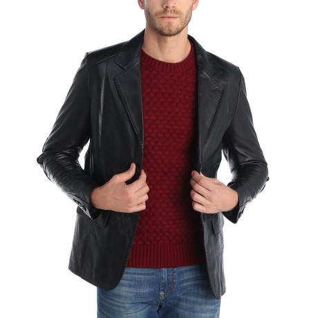 Ohaio Leather Jacket // Black (XS)