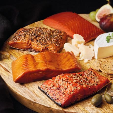 Tastes of the Smokehouse Salmon & Scallop Collection