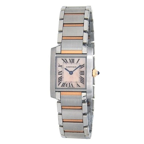 Cartier Ladies Tank Francaise Quartz // W51027Q4 // Pre-Owned