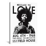 """Message To Love // Radio Days (26""""W x 40""""H x 1.5""""D)"""