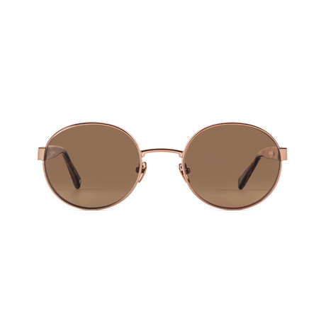Unisex Eclipse 06 Polarized Sunglasses // Brown Horn + Brown