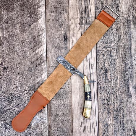 Sharpening Leather Strop