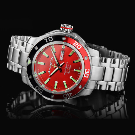 Aragon Superjet NH36 Automatic // A346RED