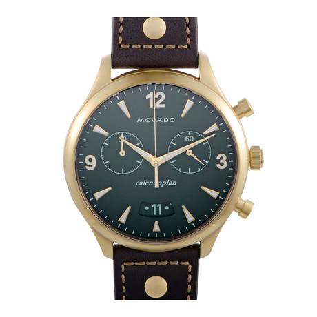 Movado Heritage Calendoplan Chronograph Quartz // 3650031