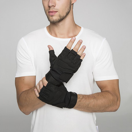 Glacier Gloves // Black (M)