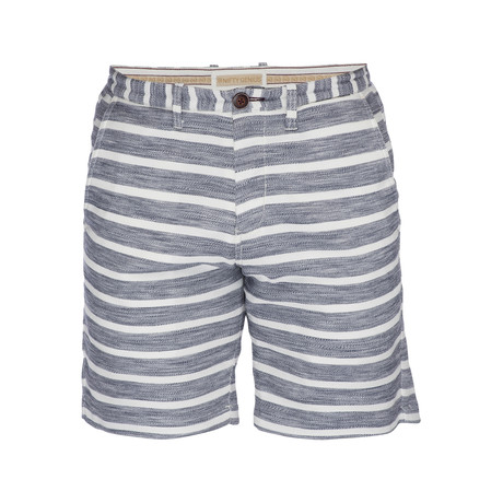 Morgan Bermuda Short // Navy + White (28)