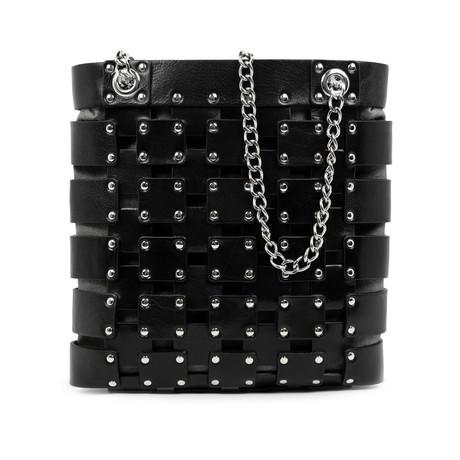 Jeanne D'Arc // Leather Tote Bag // Black