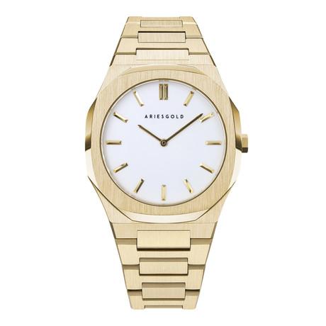 Aries Gold 1031 Chronograph Quartz // G 1031 G-WG