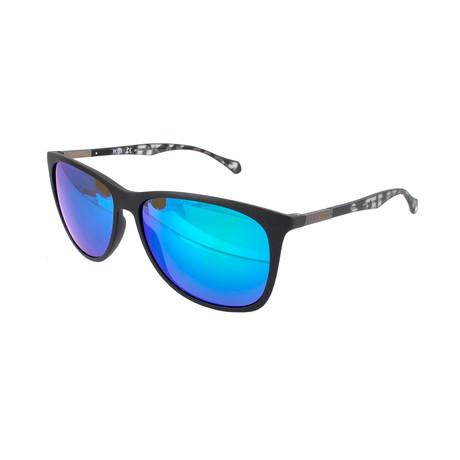 Hugo Boss // Men's 0823 Sunglasses // Black + Blue
