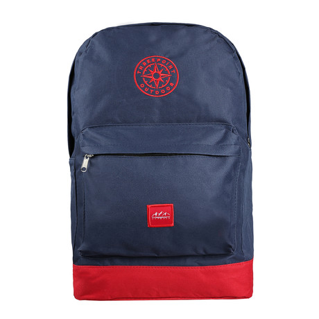 Compass // Navy + Red