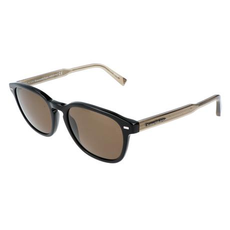 Ermenegildo Zegna // Men's EZ0005 Sunglasses // Black