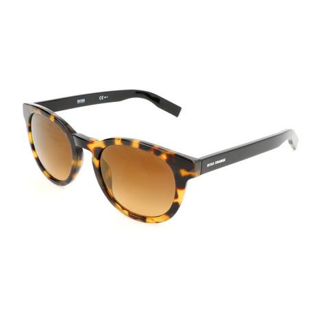 Boss Orange // Men's 0194S Sunglasses // Havana + Spotted Black