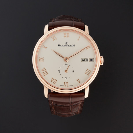 Blancpain Villeret Ultra Slim Automatic // 6651-3642-55B // New