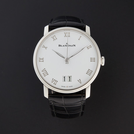 Blancpain Big Date Villeret Automatic // 6669-1127-55B // New