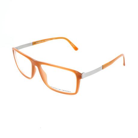Porsche Design // Men's P8259 Optical Frames // Amber