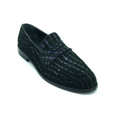 Rostly Dress Shoes // Dark Blue (Euro: 39)