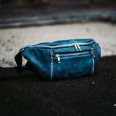 Crossbody Bag // Blue
