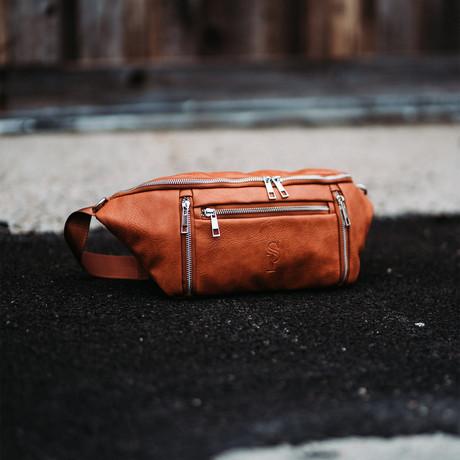 Crossbody Bag // Brown
