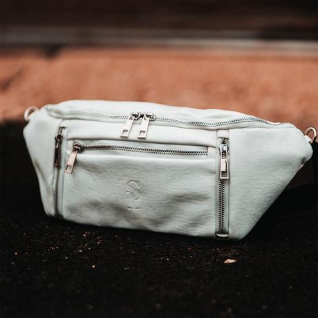 Crossbody Bag // White