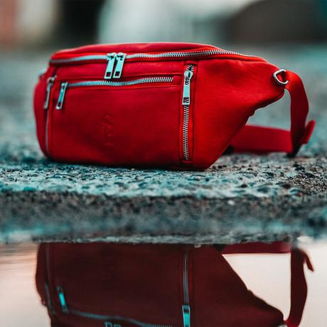 Crossbody Bag // Red
