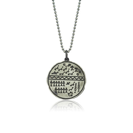 "Saami Charm Serenity Necklace // Oxide (22"")"