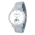 Frederique Constant Slimline Moonphase Automatic // FC-705X4S4/5/6 // Pre-Owned