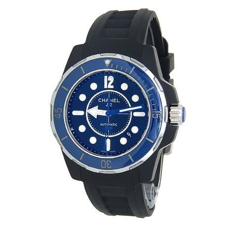 Chanel J12 Marine Automatic // H2559 // Pre-Owned